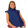 Safe'n'Sure Lead Protective Aprons - Child-size Bib Apron w/  attached Collar